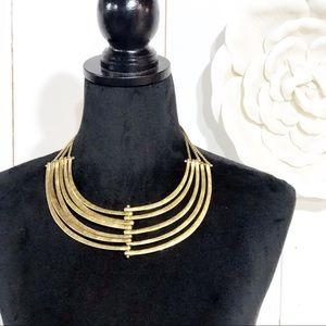 Lucky Brand Gold Bohemian Collar Necklace